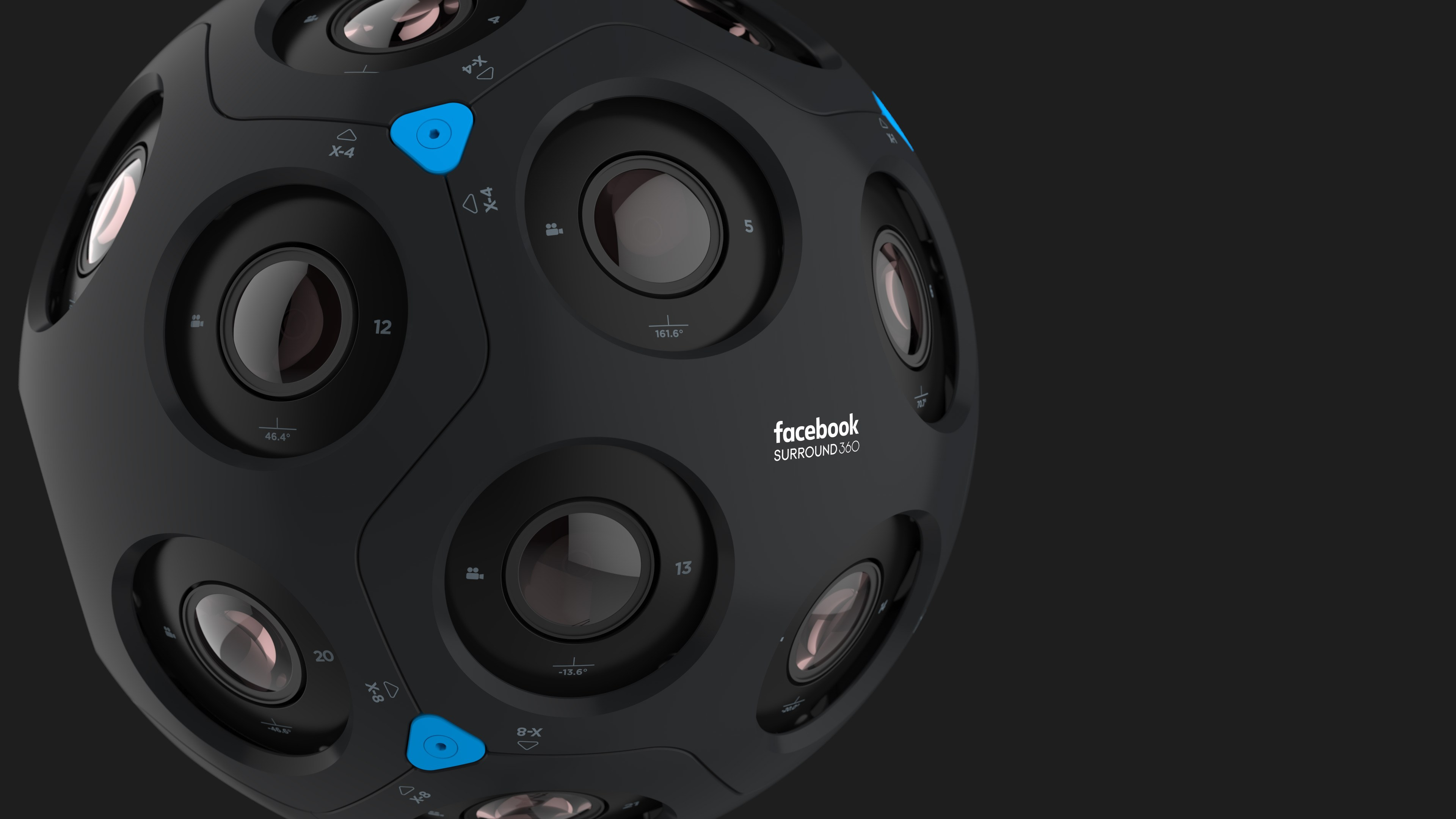 F8: Facebook Displays Newly Designed 'Surround 360'  Camera that Delivers 6 Degrees of Freedom