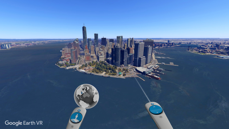 Brand New Google Earth VR will be Revealed April 18