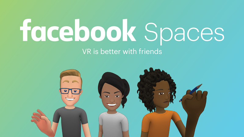 Mark Zuckerberg Livestreams From Facebook Spaces Prior To Oculus Connect 4 Event