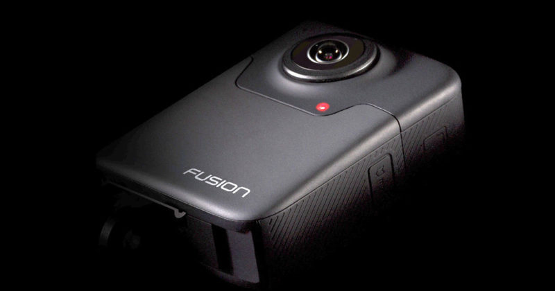 GoPro Releases New VR Camera Called 'Fusion'