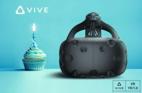 htc vive one year anniversary