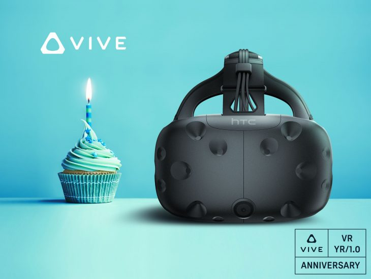 HTC Vive Celebrates Its Upcoming One Year Anniversary With These Special Discounts