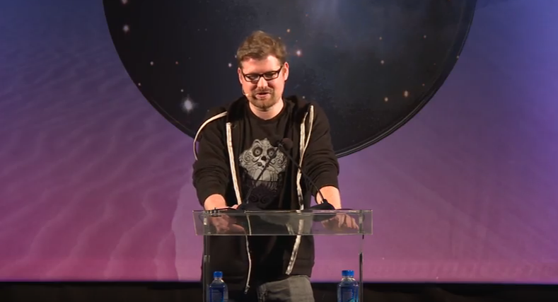 Watch: Justin Roiland Co-Creator of 'Rick and Morty' Gives Keynote Speech About the VR Industry
