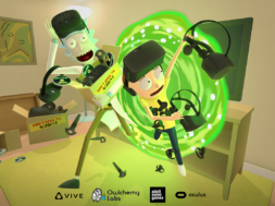 rick and morty vr experience