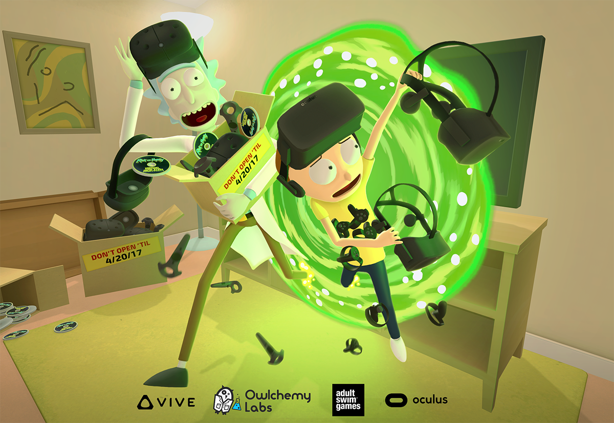 The Wait Is Almost Over For The 'Rick and Morty: Virtual Rick-Ality' VR Experience
