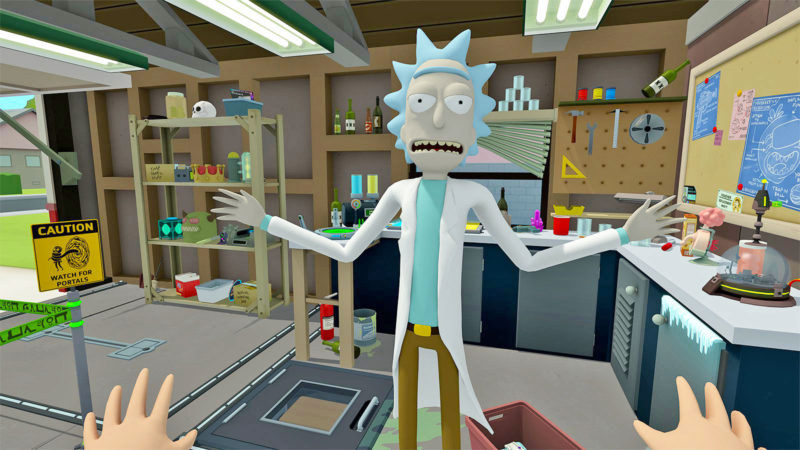 Just Released! 'Rick and Morty: Virtual Rick-Ality' VR Experience