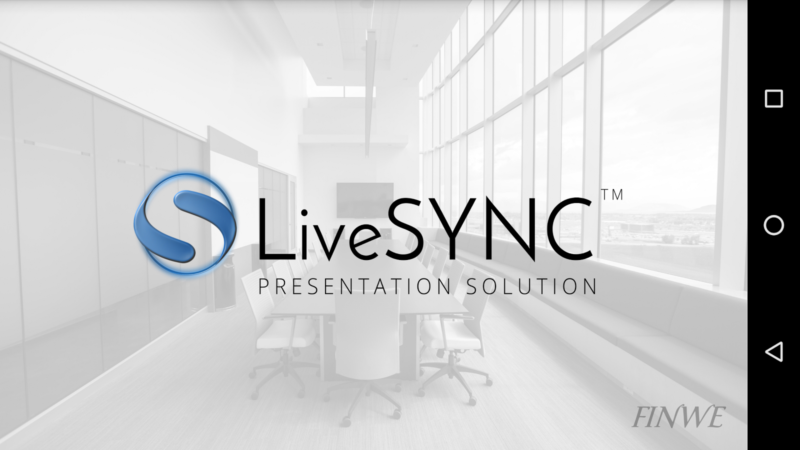 LiveSYNC 360 Demo Control App Launches Today