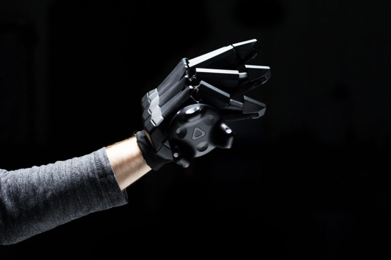 VRgluv Brings 1st Force Feedback Haptic Glove to VR