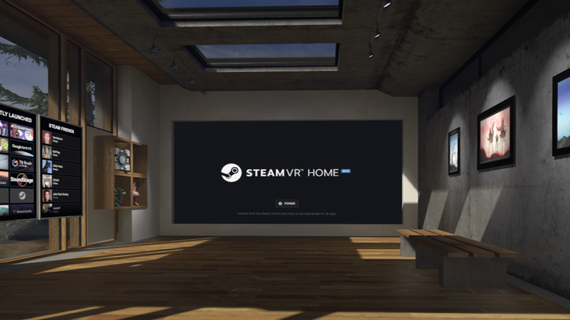 Valve Introduces SteamVR Home Beta