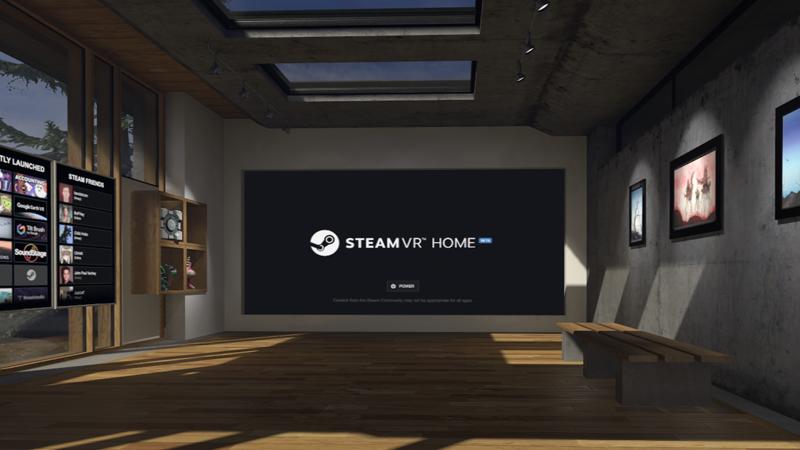 Valve Introduces SteamVR Home Beta