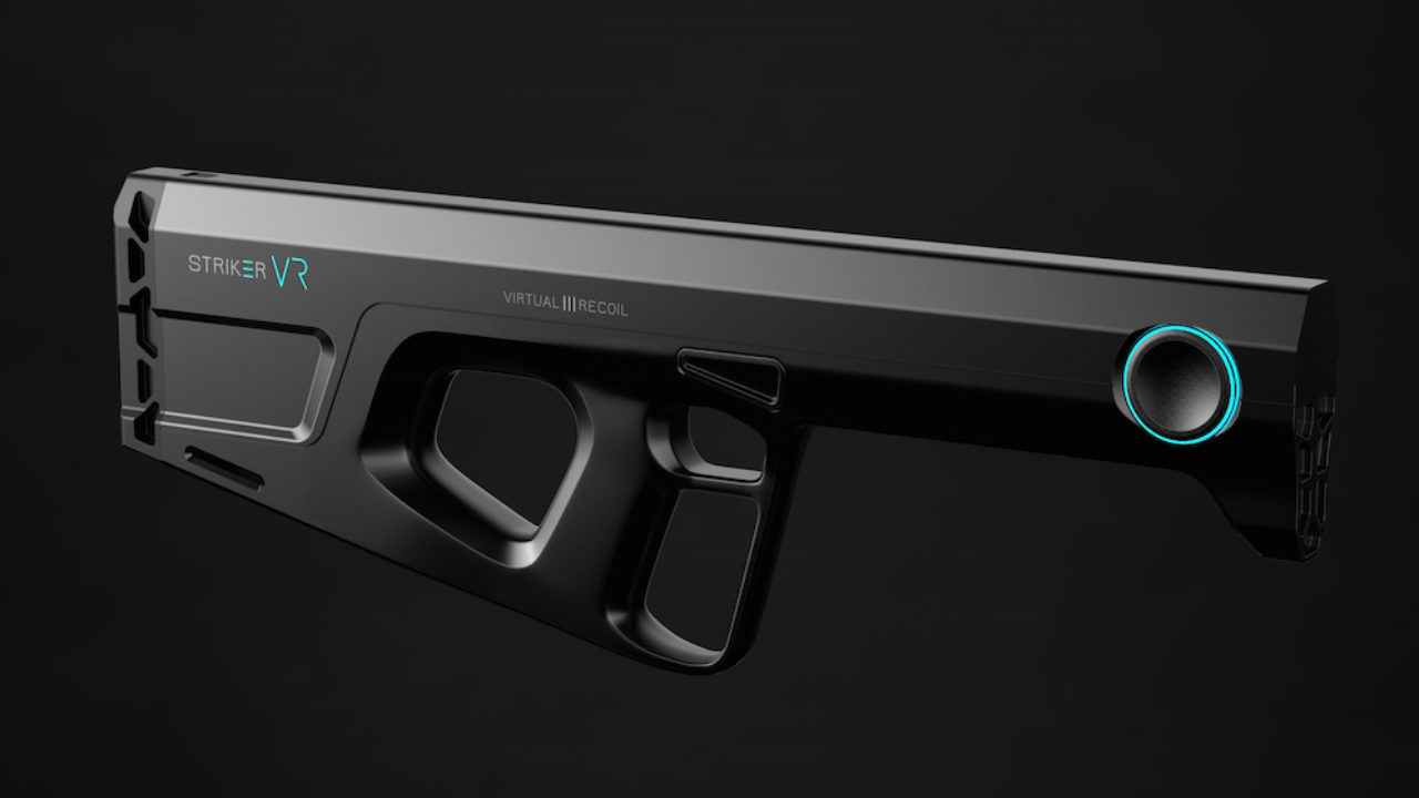 Striker VR Starting Pre-Orders for Gun Peripheral at a