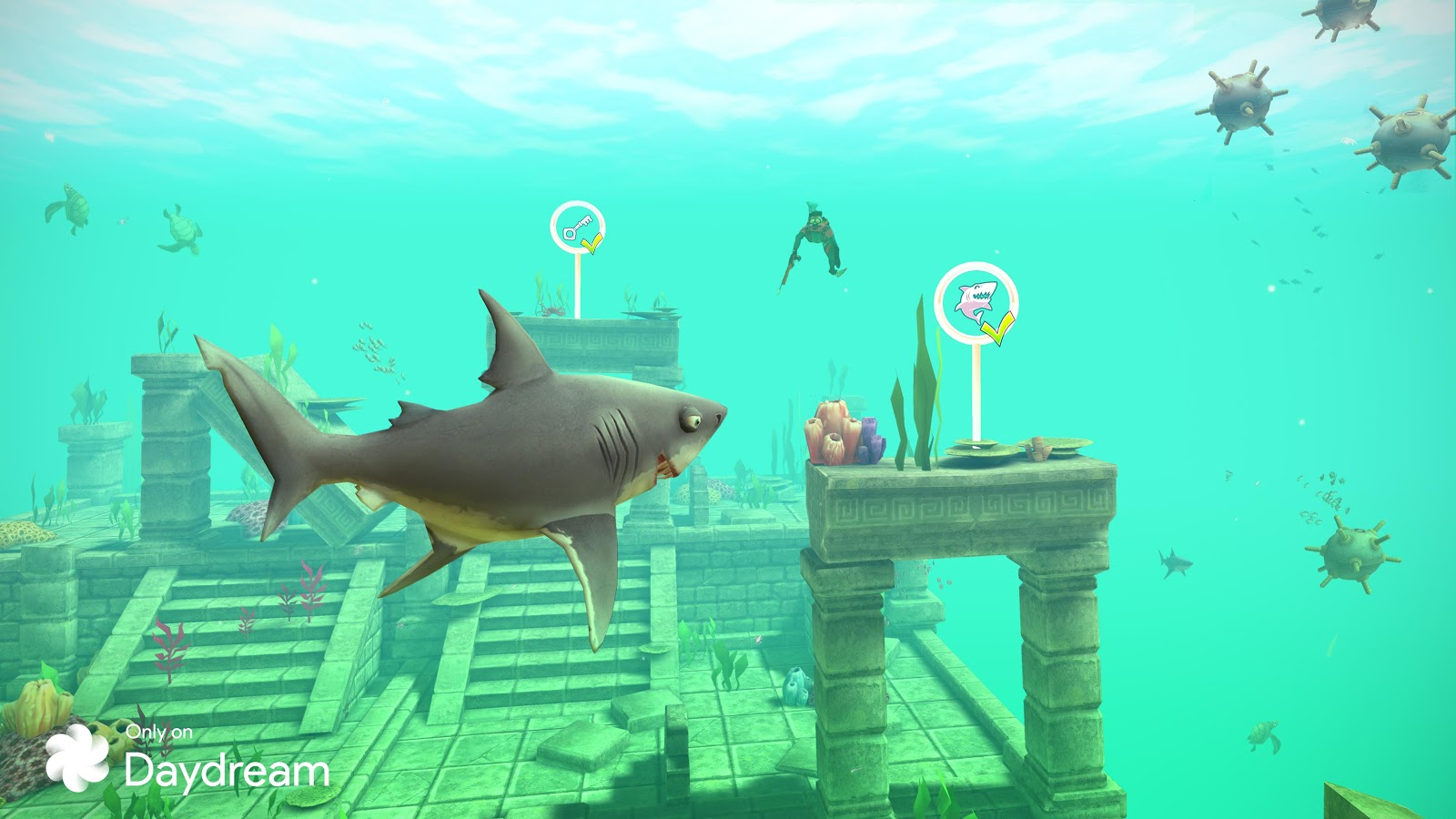 Ubisoft Releases Hungry Shark VR For Google Daydream