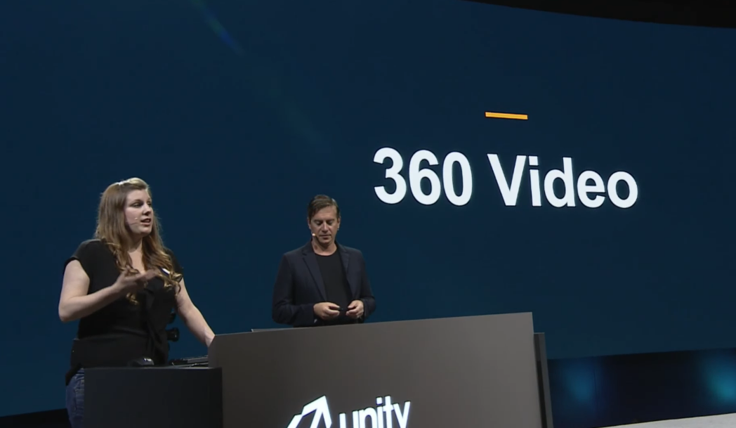 Vision 2017: Unity Showcases Their Solution Which Allows 360 Videos to be Rendered in Real Time