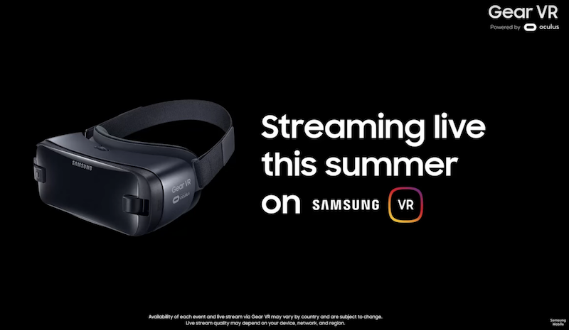 Samsung Gear VR Live Pass Coming This Summer