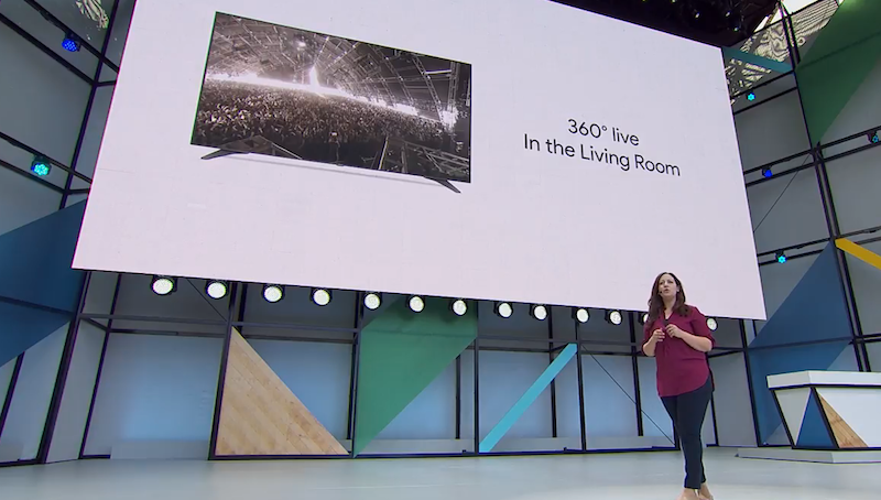 Google I/O 2017: You'll Soon be able to Livestream 360 Videos From Your Living Room