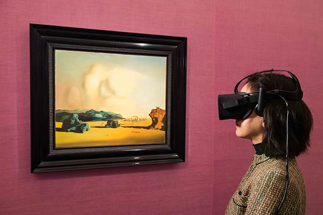 Sotheby's New York Opens 'Art of Virtual Reality' Exhibit
