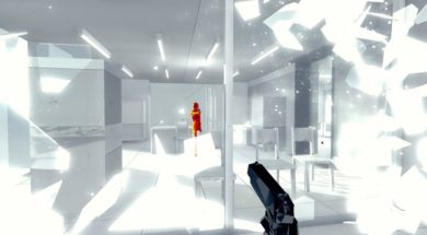 superhot vr on htc vive