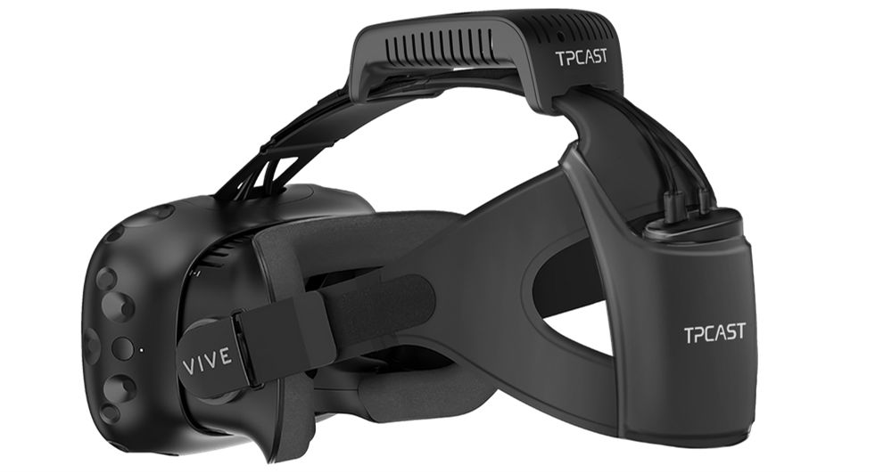 HTC Vive Goes Wireless with TPCast Upgrade Kit