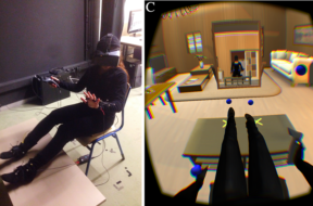 A Virtual Out-of-Body Experience Reduces Fear of Death