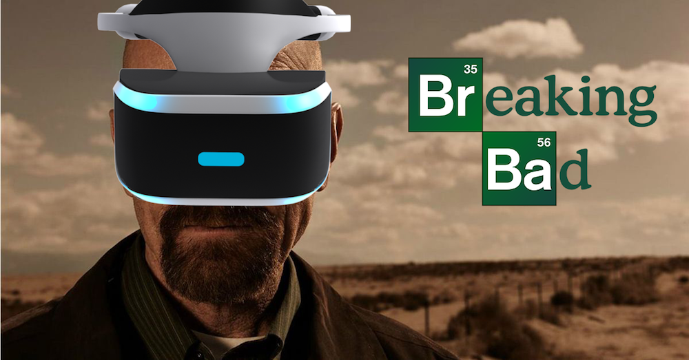 Vince Gilligan Working on Breaking Bad VR Experience