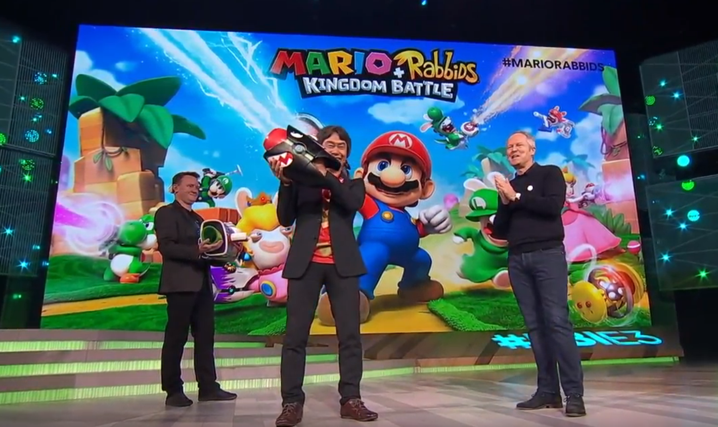 Ubisoft and Nintendo Partner Up To Create 'Mario Rabbids Kingdom Battle'