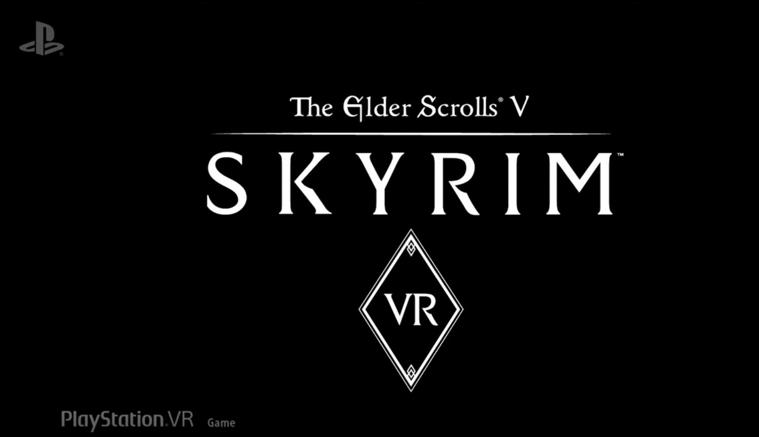 Sony Announces Skyrim VR For PlayStation VR This November