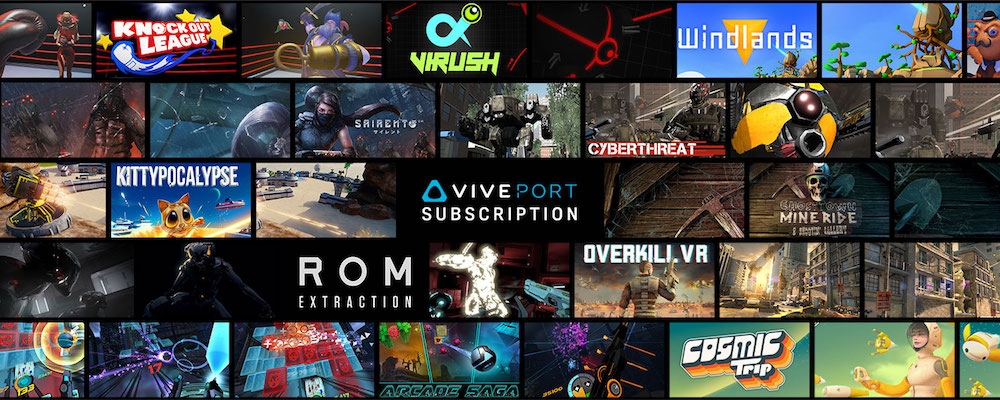 HTC Expands Library For Viveport Subscribers With 75 Additional VR Titles