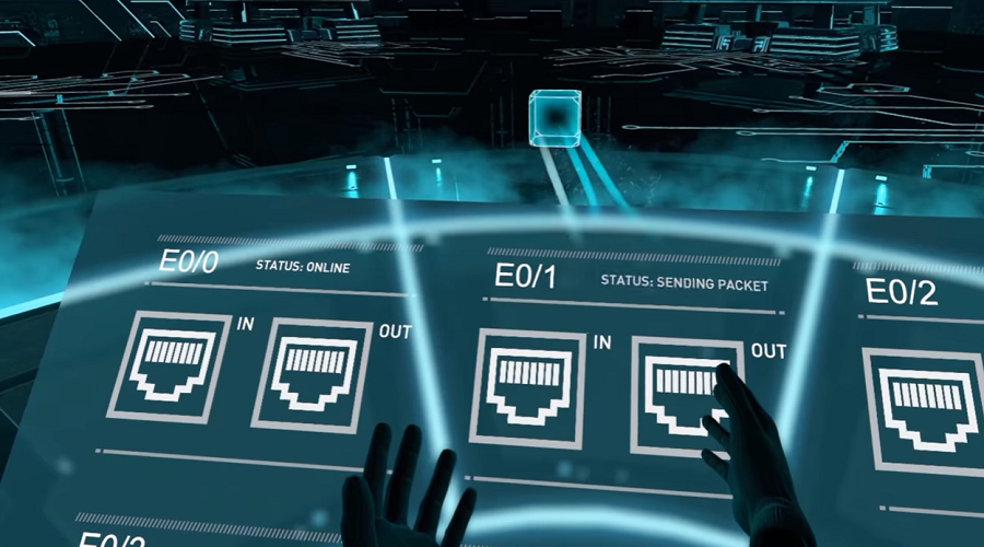 Cisco CCIE Virtual Reality Experience - VR News, Games, And