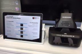 Samsung-ExynosVR-III standalone vr headset