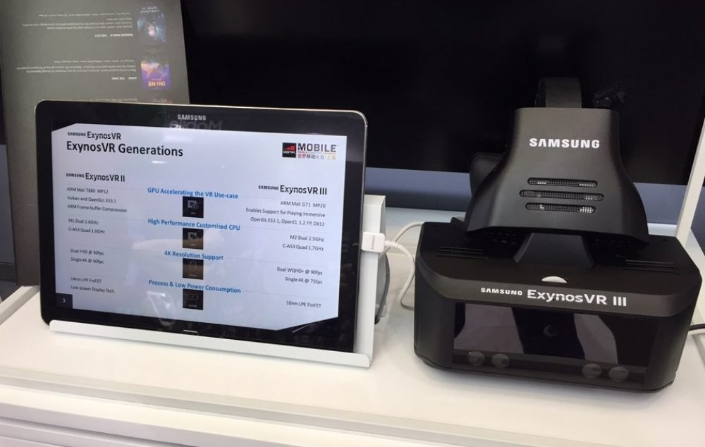 Samsung ExynosVR III Standalone Headset Revealed