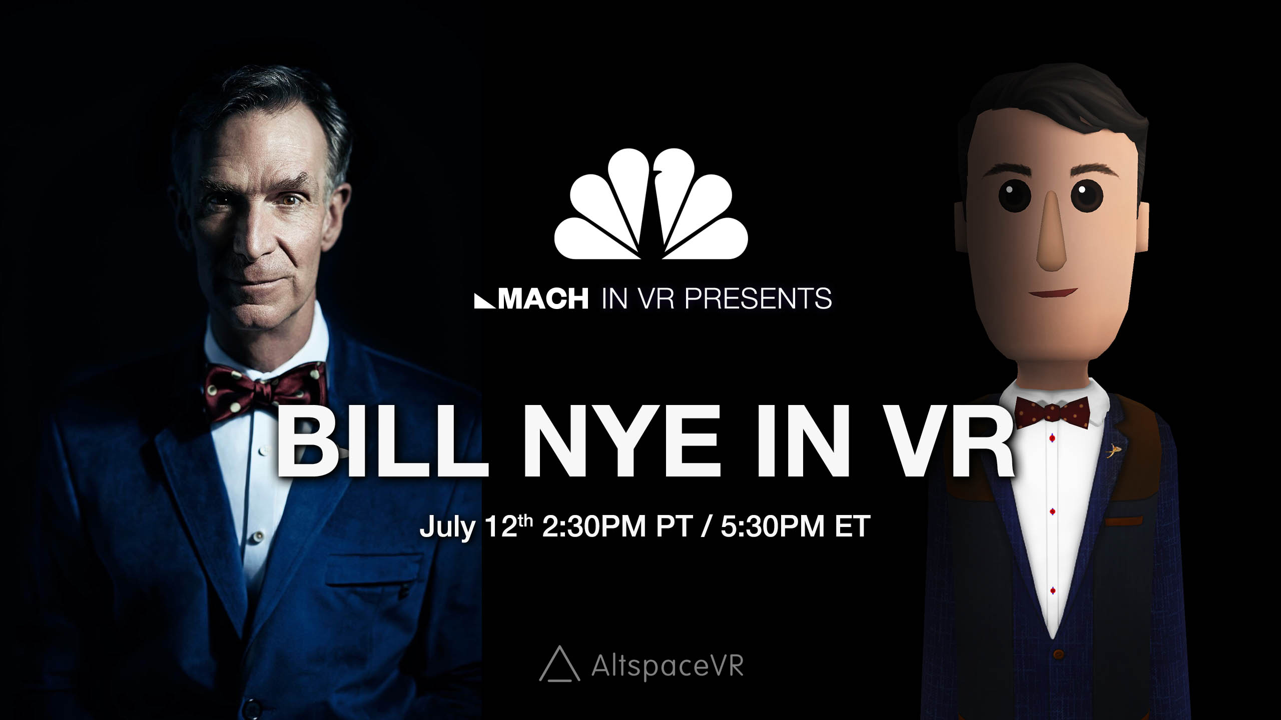 Bill Nye Coming To AltspaceVR To Talk About His Eight Principles Of Everything