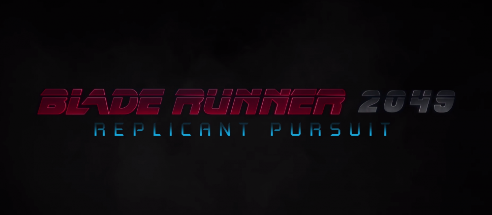 Blade Runner 2049 Getting A VR Experience