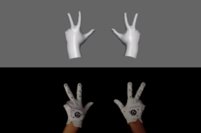 oculus advanced hand tracking gloves
