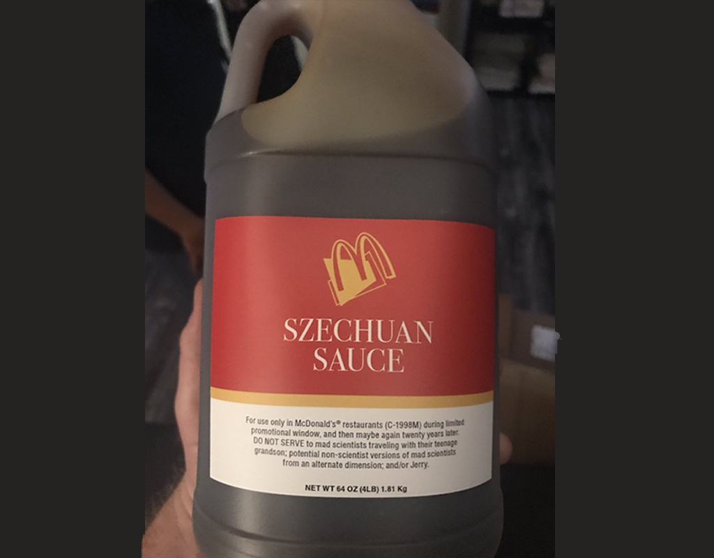 Rick and Morty Creator Finally Gets His Szechuan Sauce From McDonald's
