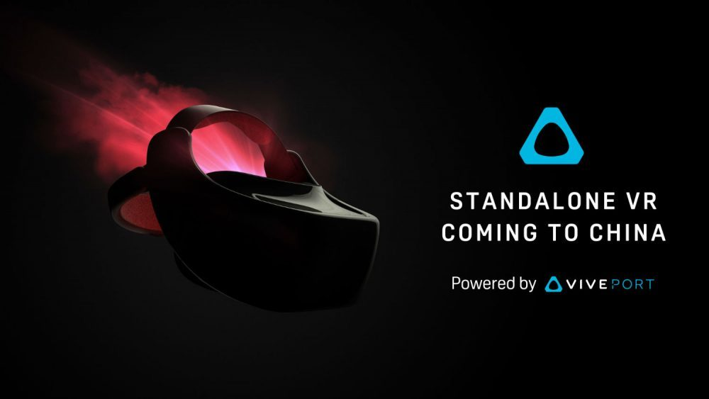 HTC Launching Standalone Vive Headset In China
