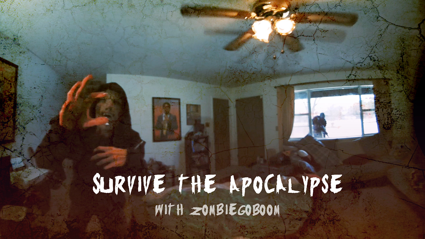 amaze vr zombie go boom