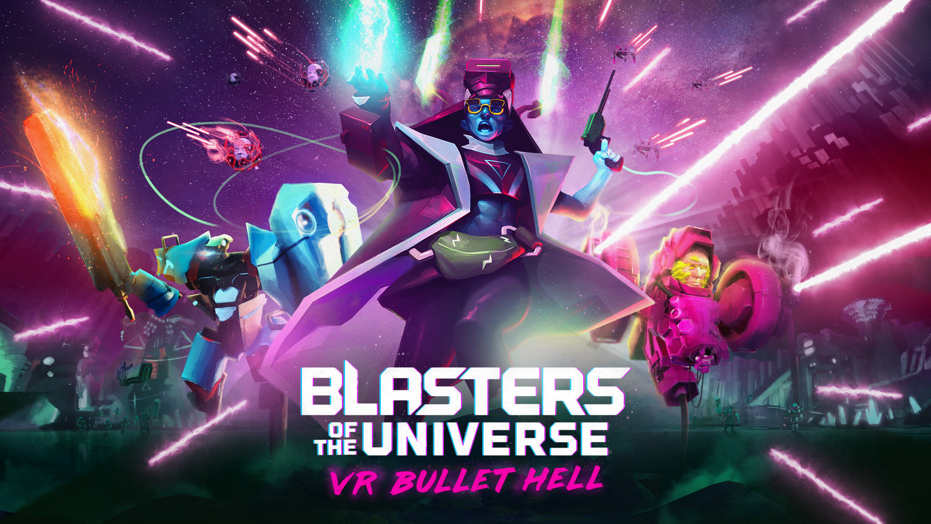 'Blasters of the Universe' Will Keep You On The Edge Of Your Seat