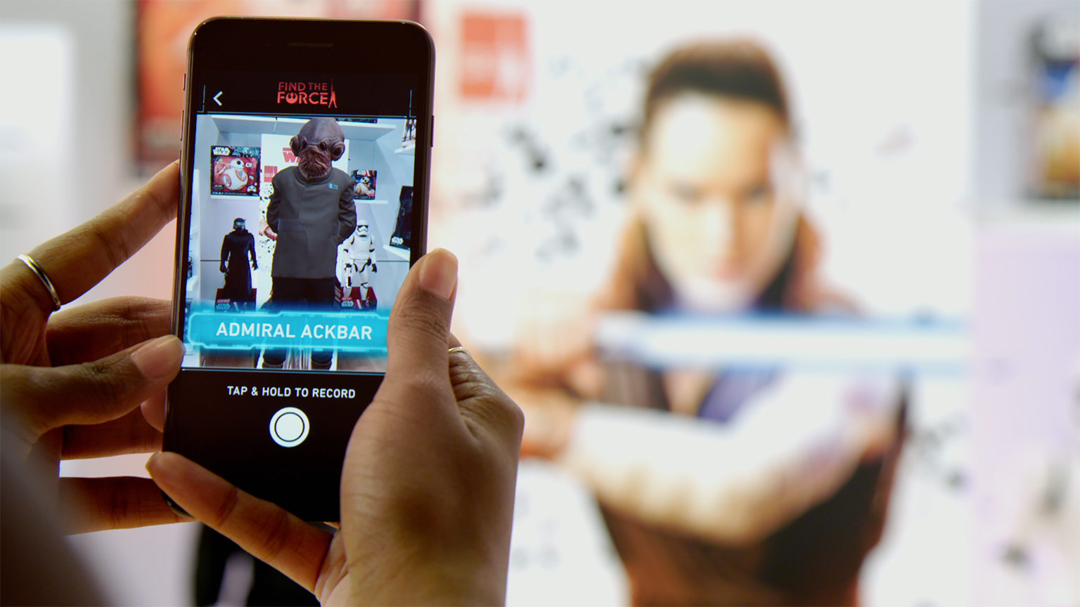 The New Star Wars AR App Will Allow You To Take Selfies With Your Favorite Characters