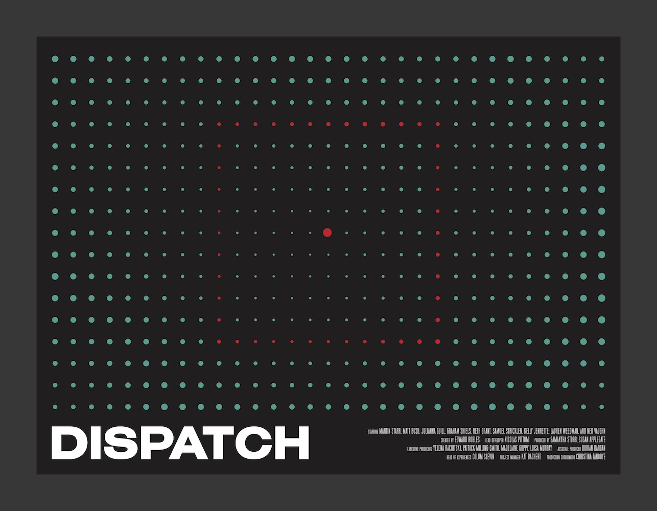 "HERE BE DRAGONS Debuts VR Miniseries ""Dispatch"" At Venice Film Festival"