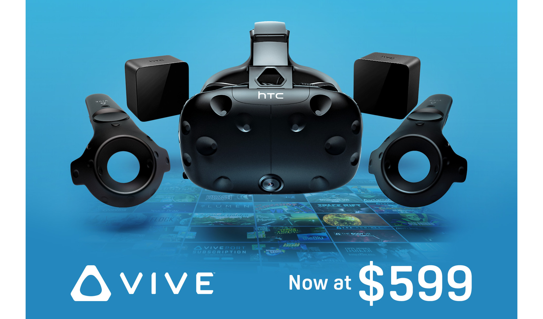 HTC Drops Vive Price To $599