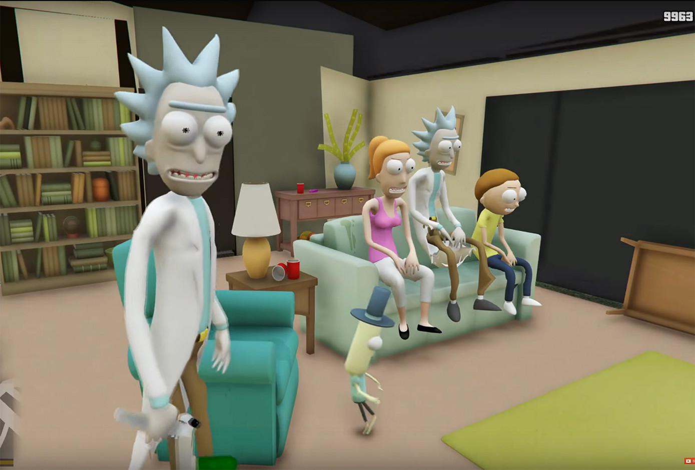 Watch: New Rick and Morty Mod For GTA V Features Virtual Rick-ality