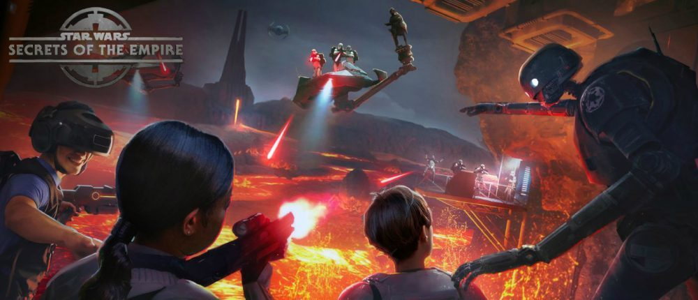 Star Wars: Secrets of the Empire Hyper Reality Experience Opening At Disneyland With The VOID