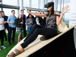 the slide at the shard VR