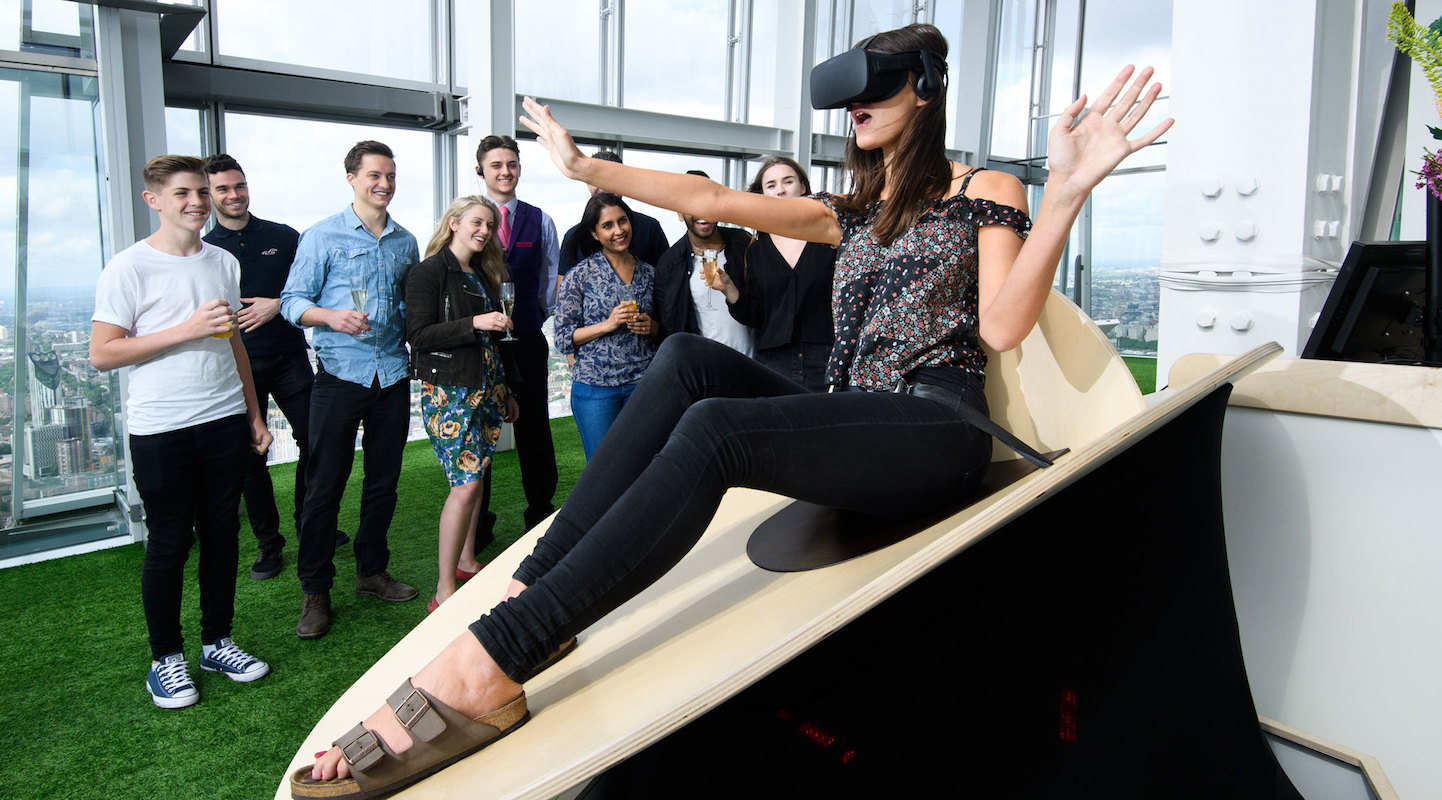The Shard Offers UK's Highest Virtual Reality Experiences