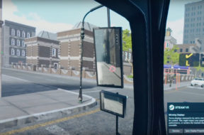 ups vr simulation for driving