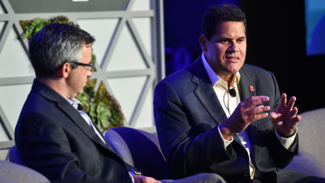 Nintendo COO Reggie Fils-Aime Not Sold On VR Just Yet