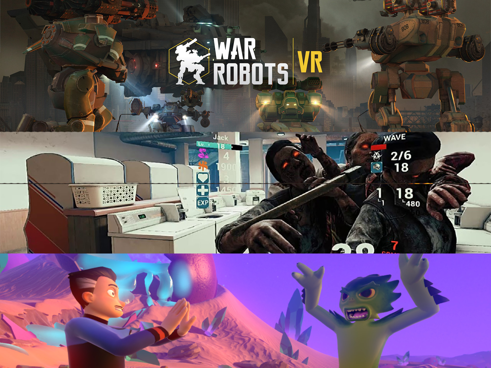 Most Positive Rated VR Games In The Last 30 Days