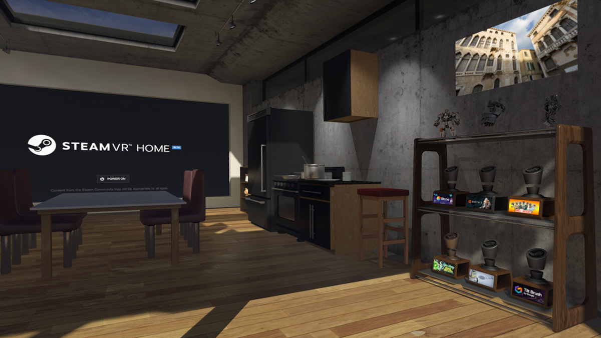Valve Launches New Updates For SteamVR Home Including A Boxing Ring