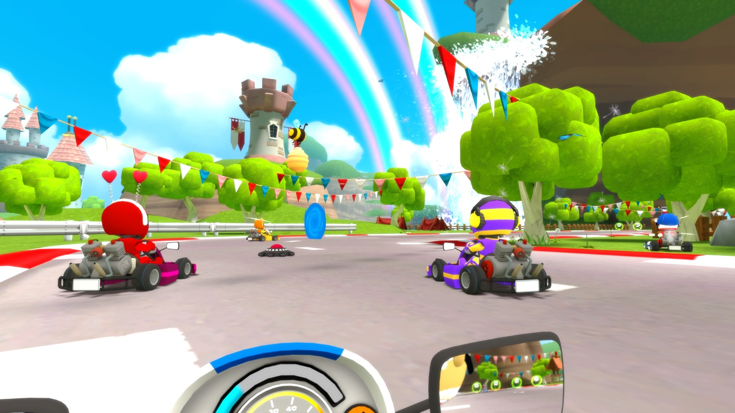 VR Karts Allows You To Drive And Destroy Your Competition In The Virtual World