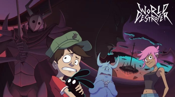 Fun Story: Group Of Animators Create A 2D Animated Film Called World Destroyer
